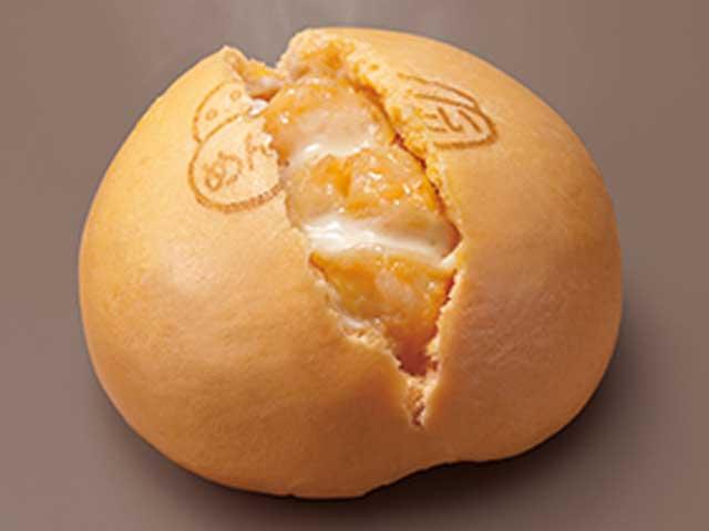 明太チーズポテトまん