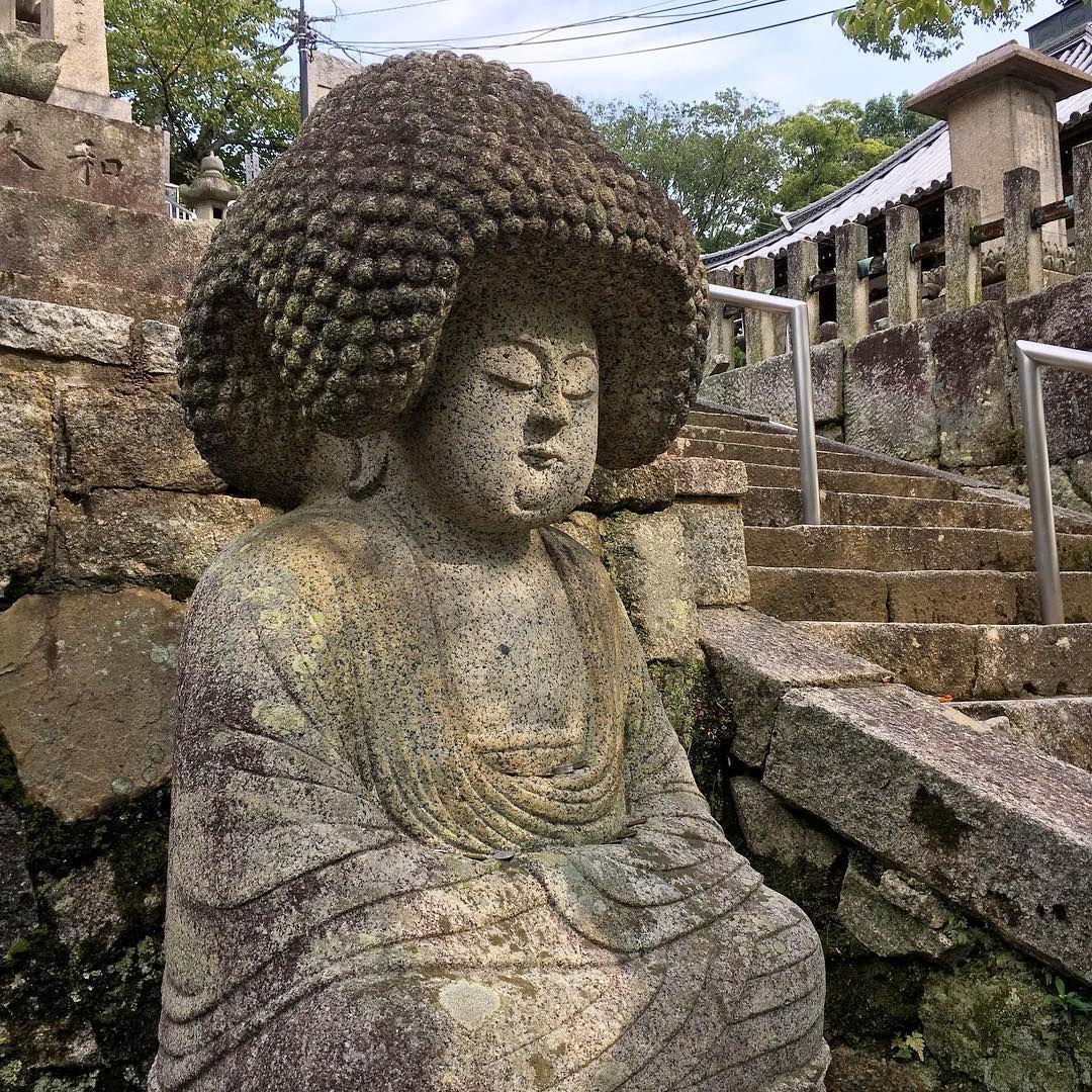 アフロ仏像